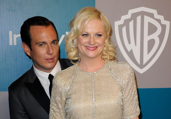 Amy Poehler Will Arnett 2013