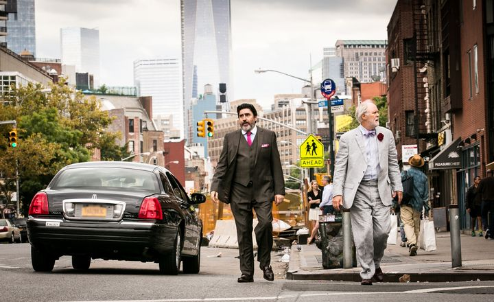 """Alfred Molina and John Lithgow star in a scene from """"Love Is Strange."""""""