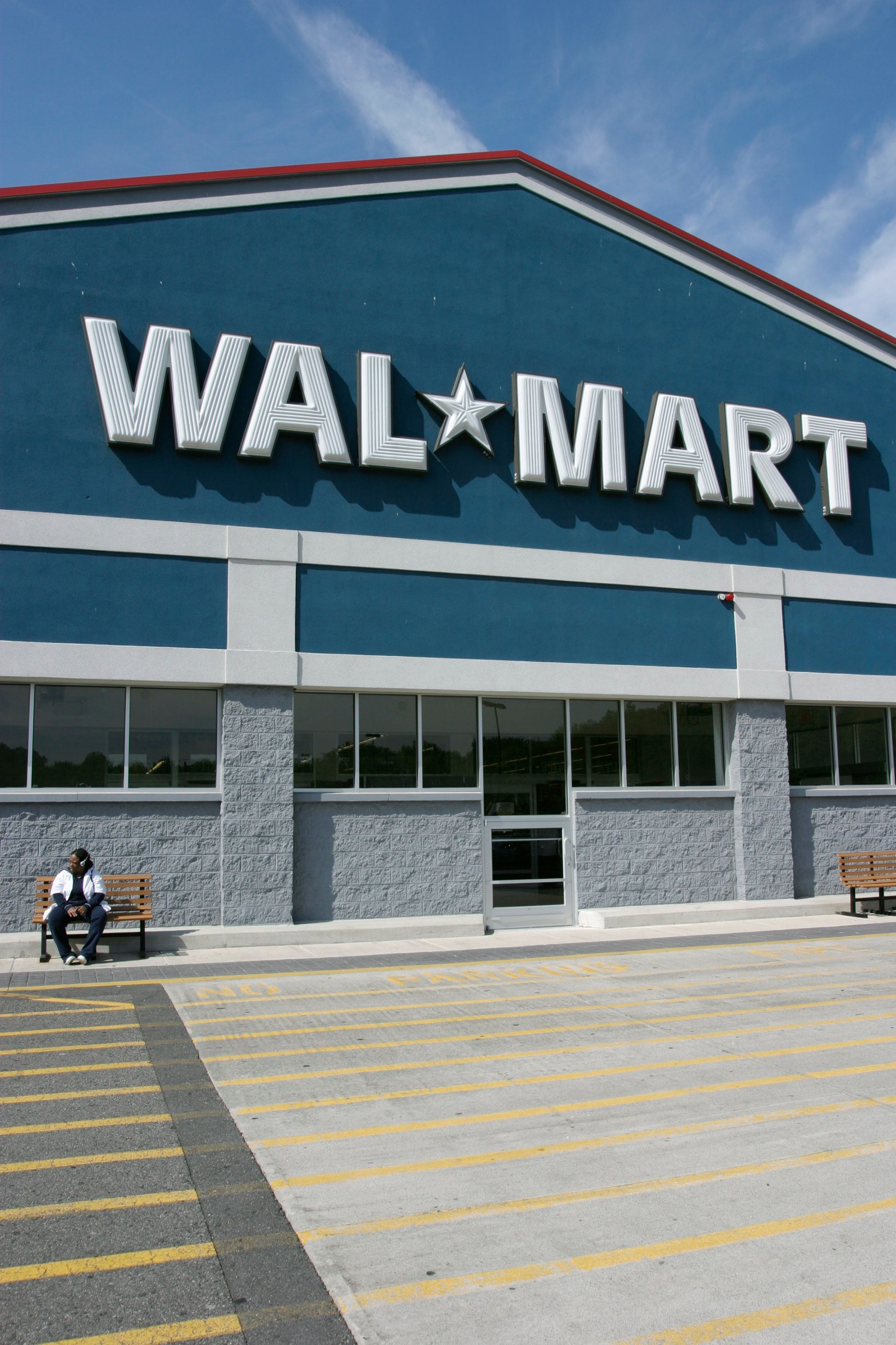 Wal-Mart Storefront in Airmont, New York