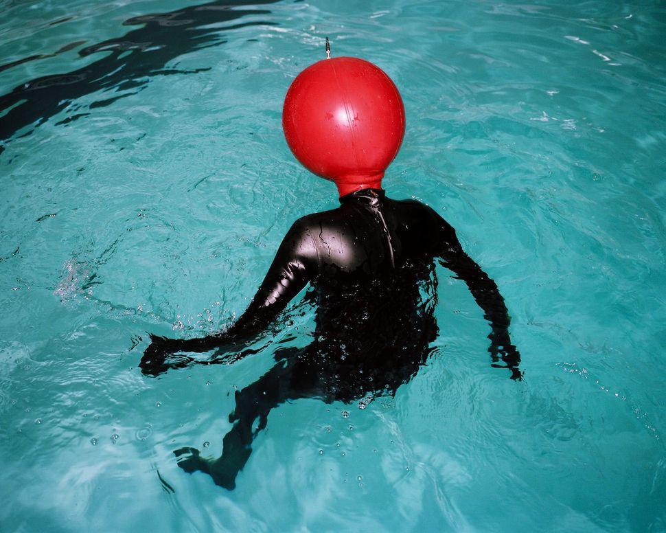 Red Inflatable