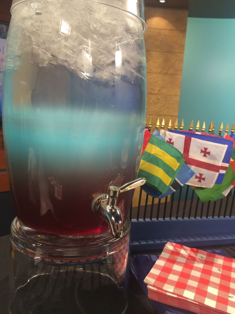 Red White & Blue Punch