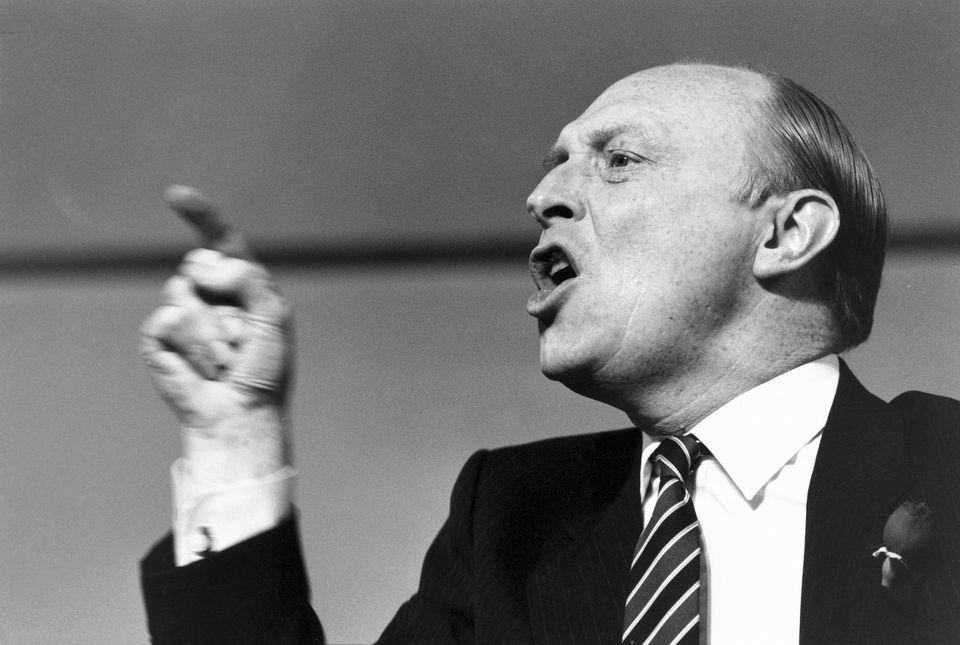 Neil Kinnock in his