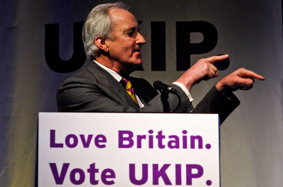 Neil Hamilton, now a UKIP member of the Welsh