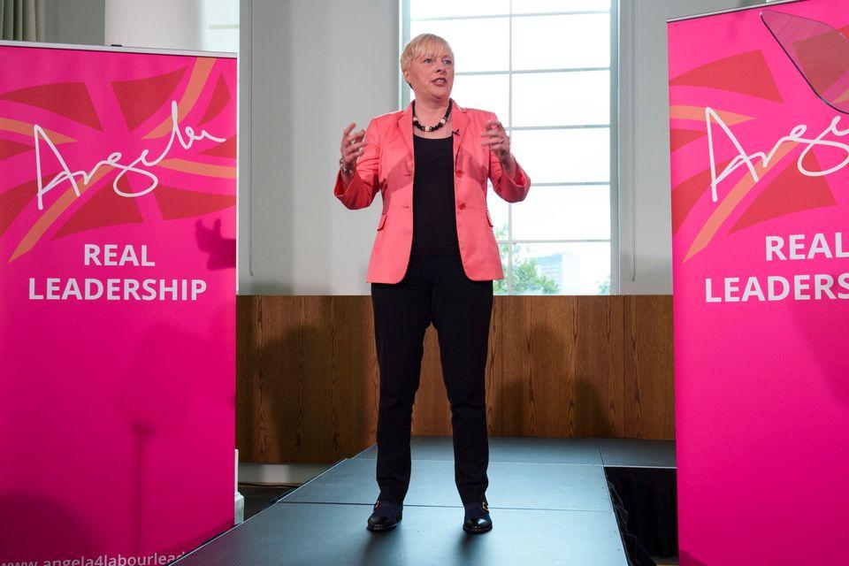 Angela Eagle launching her leadership