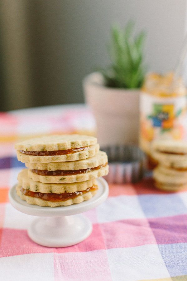 "<strong>Get the <a href=""http://www.becca-bakes.com/home/basil-cornmeal-shortbrea"" target=""_blank"">Basil Cornmeal Sandwich Sh"