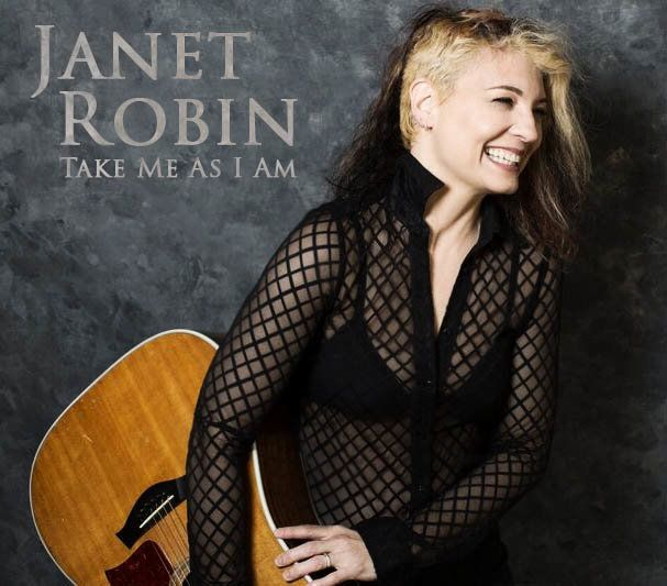 """The cover of Janet Robin's new album, which <a href=""""http://www.ticketweb.com/t3/sale/SaleEventDetail?eventId=6826935&amp;pl="""