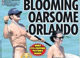 A Naked Orlando Bloom Paddle Boarding? Over To You Twitter...