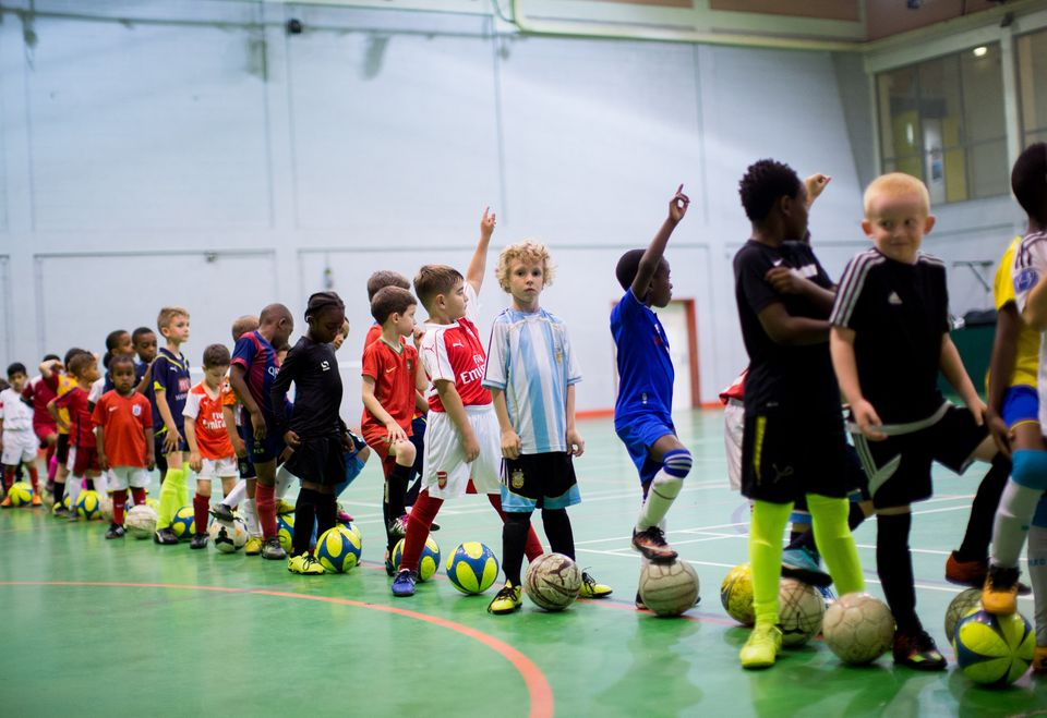 Kids at the coaching academy experience strict