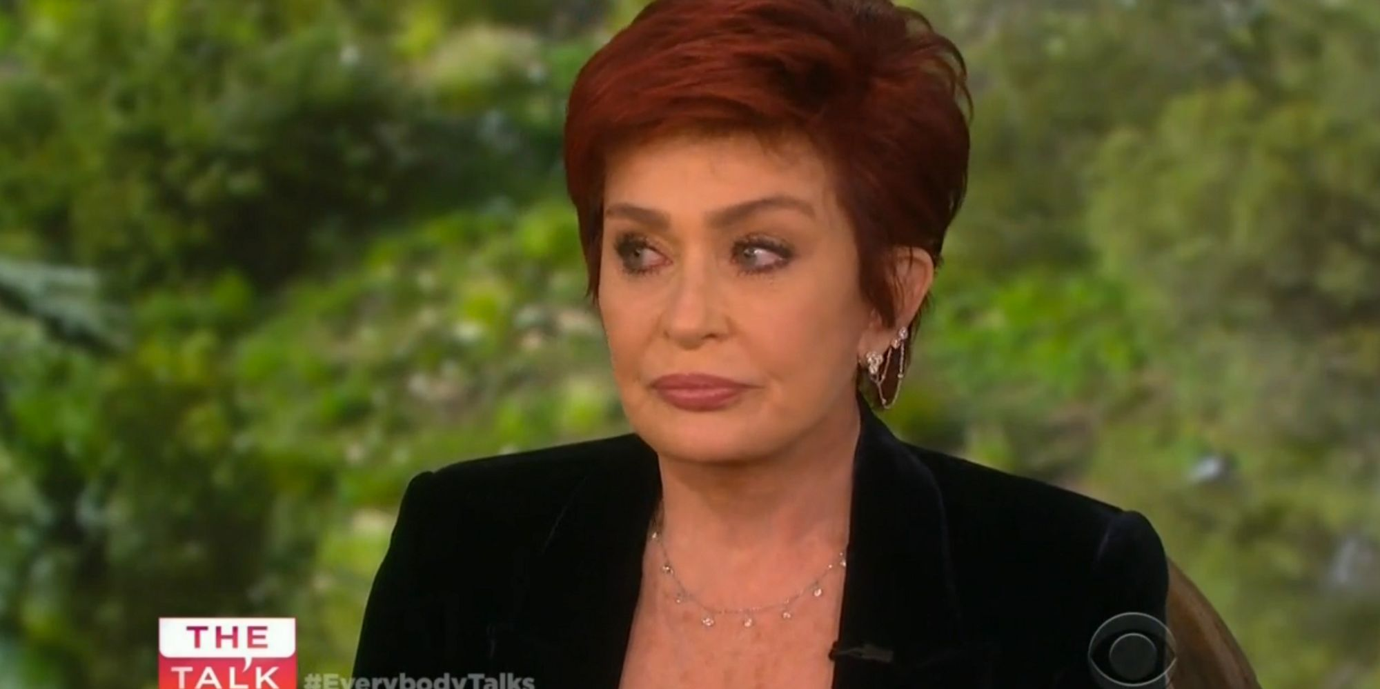 Sharon Osbourne Discusses Ozzy's Sex Addiction In Teary 'The Talk' Interview