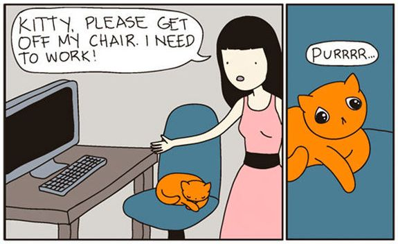 8 Illustrations Proving Cats Just Want To Ruin Our Lives