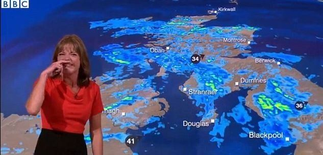 BBC Weather Presenter's Fit Of The Giggles Will Make Your