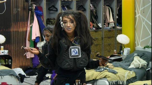 Chloe Khan in the 'CBB'