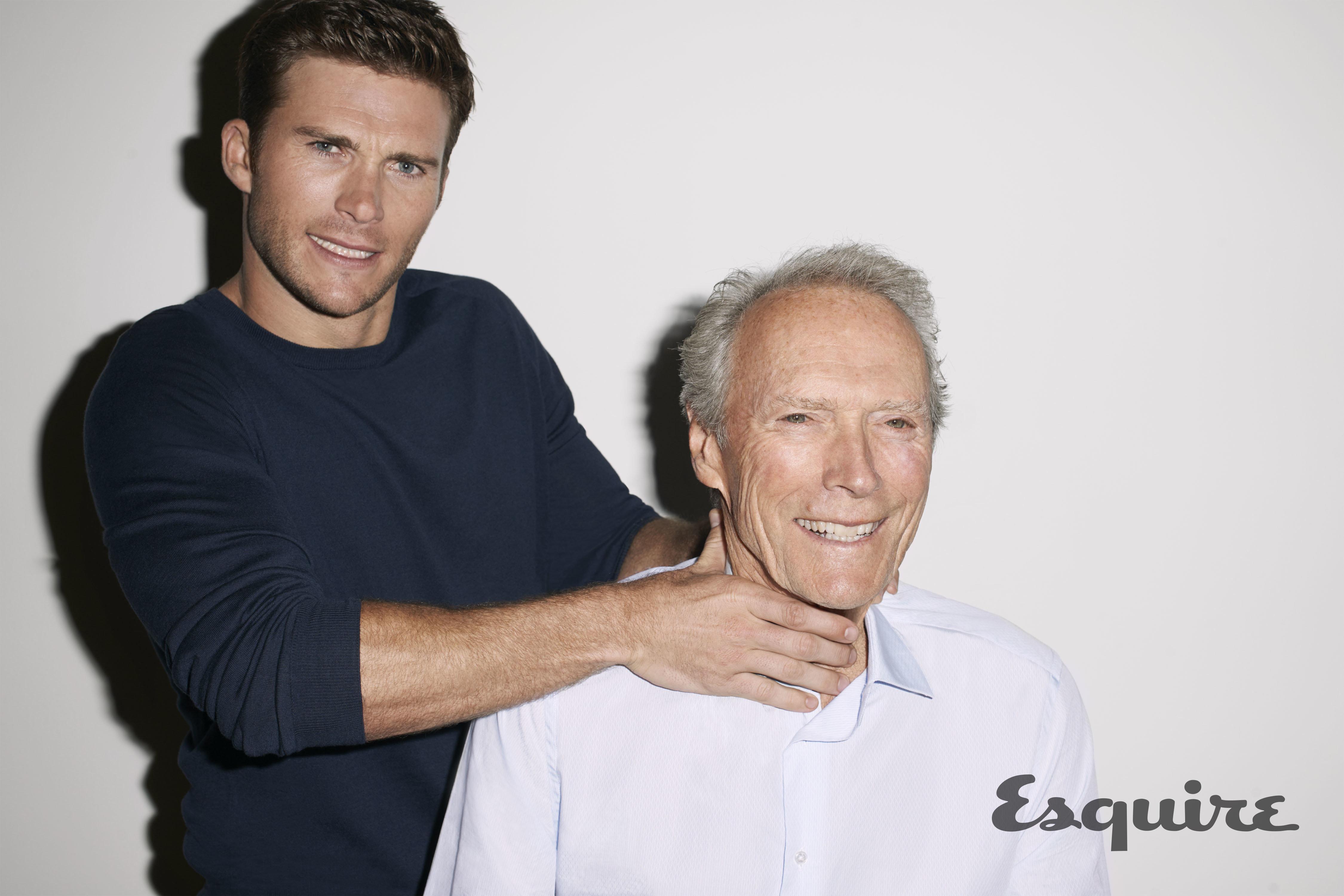 Clint was interviewed alongside son Scott by Esquire