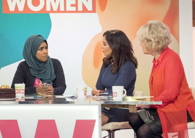 Nadiya and Vicky on 'Loose