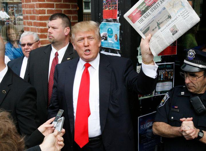 DonaldTrump's vindictive attitude toward journalists that challenge or criticize him suggests he'd limit th