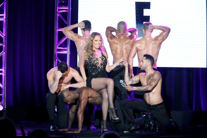 So very Mariah.