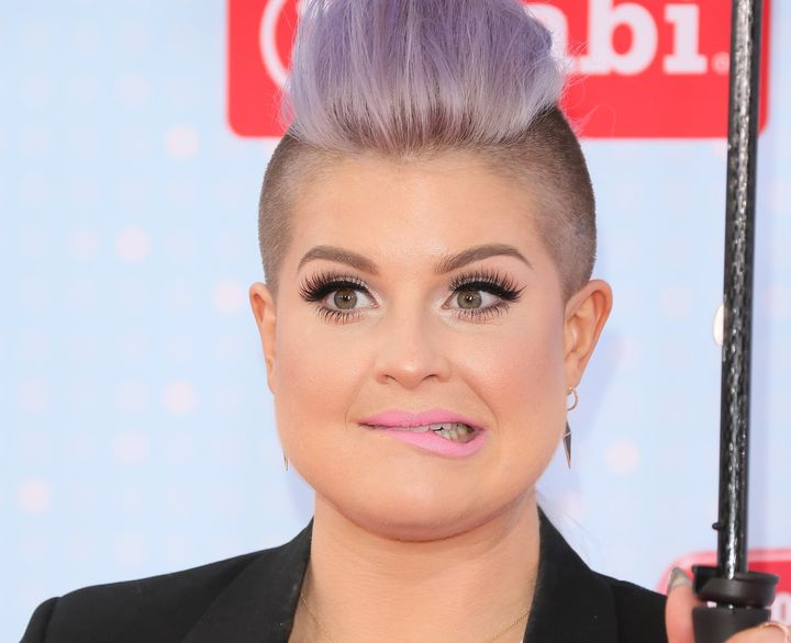Kelly Osbourne on April 25, 2015, in Los Angeles.