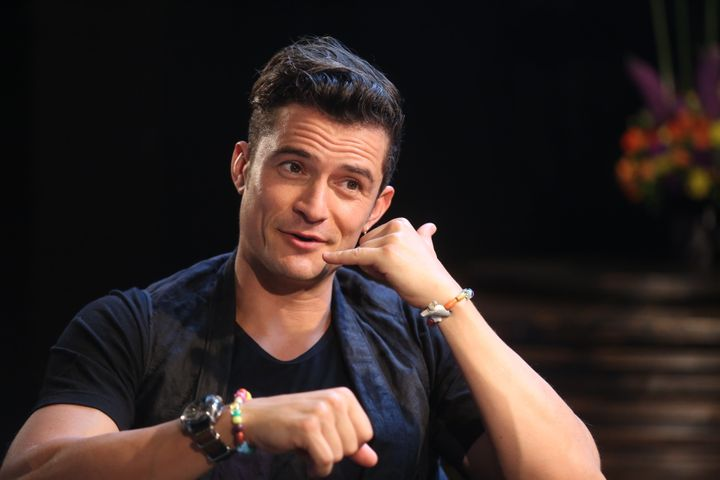 """Call me!"" --Everyone on the internet, to Orlando Bloom."