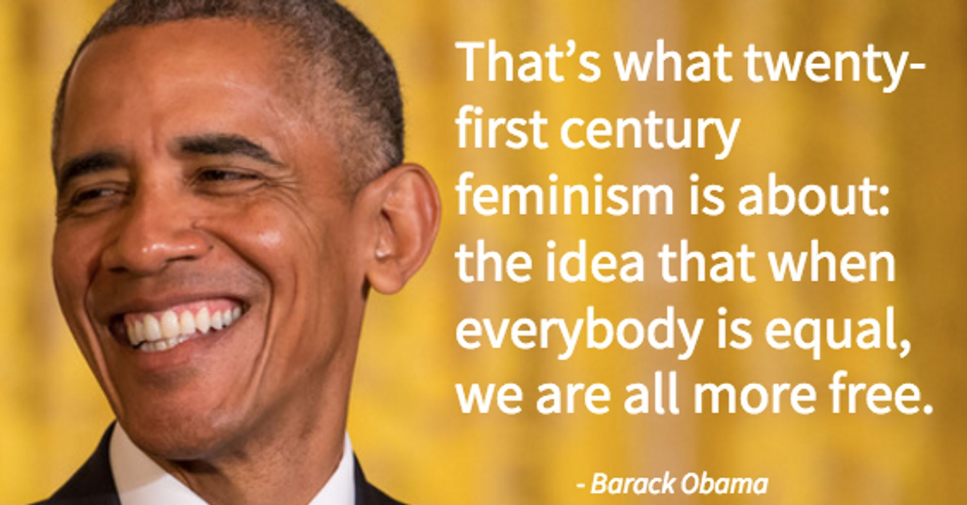 Essays On Science Barack Obama Wrote An Essay About Feminism Every Man Needs To Read   Huffpost A Modest Proposal Ideas For Essays also Buy Essay Papers Online Barack Obama Wrote An Essay About Feminism Every Man Needs To Read  English Extended Essay Topics