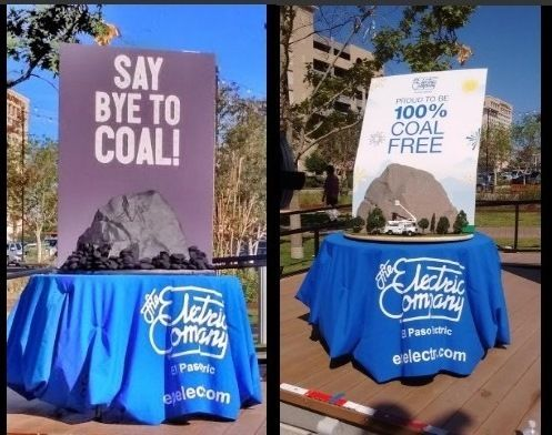 El Paso Electric cheered its own coal-free announcement in a Wednesday celebration.