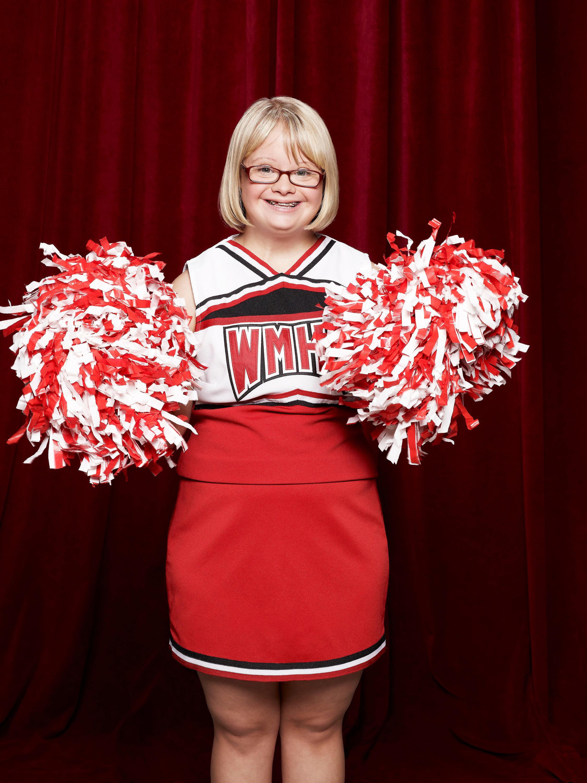 """Lauren Potter as Becky in """"Glee."""""""