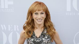 Comedian Kathy Griffin poses at The Hollywood Reporter's Annual Women in Entertainment Breakfast in Los Angeles, California December 9, 2015. REUTERS/Danny Moloshok