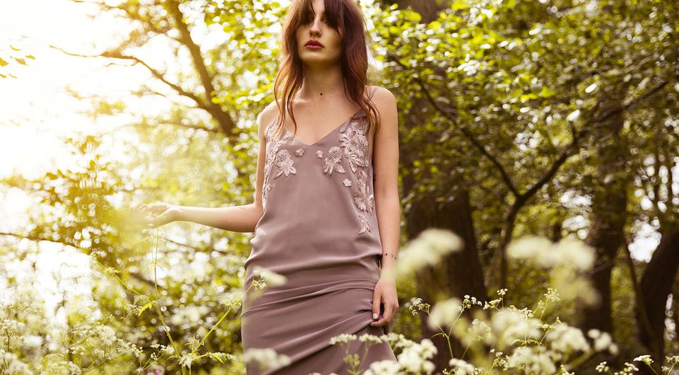 A dress from the Hope & Ivy AW16
