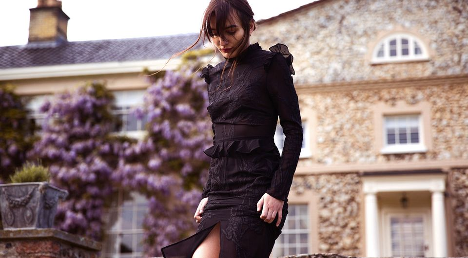 A dress from Hope & Ivy's AW16