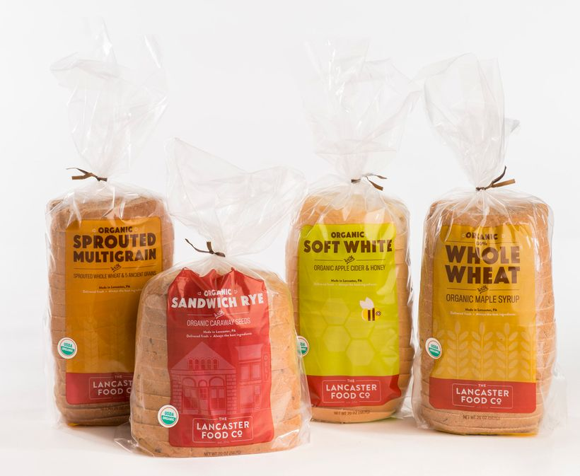 "Make a better sandwich with <a href=""http://www.thelancasterfoodcompany.com"">Lancaster Food Company's</a> organic bread"