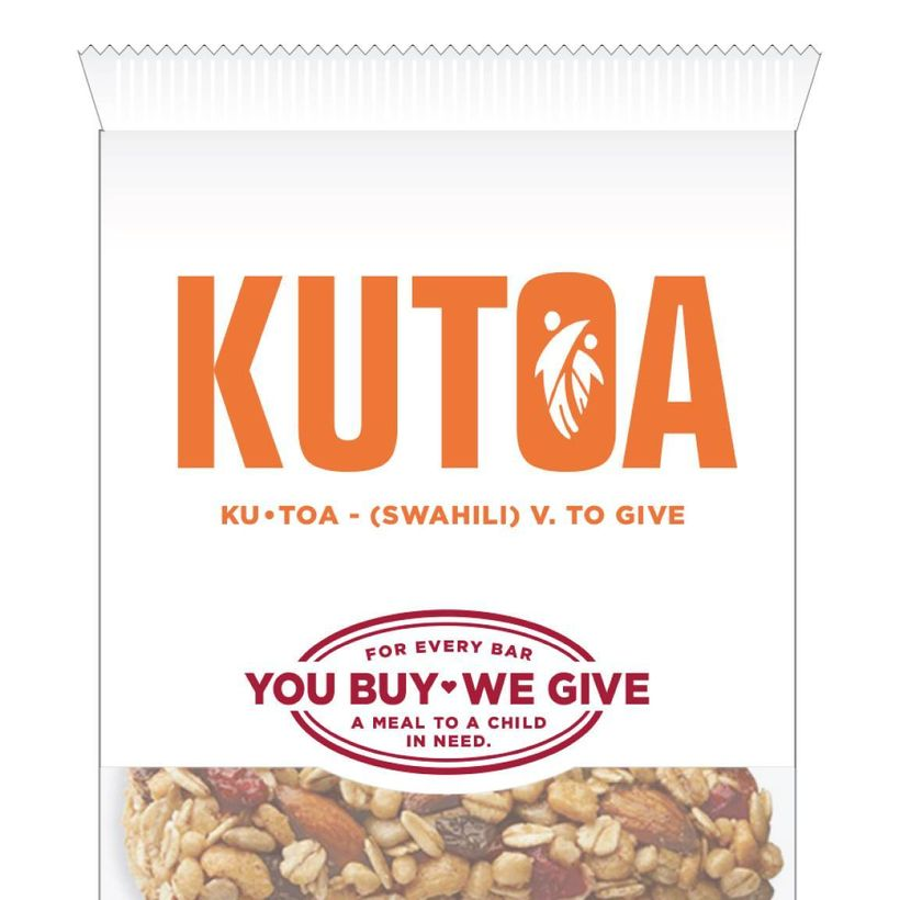 "Packed with superfoods, <a href=""http://kutoa.com/"">KUTOA</a> snack bars are crafted from whole fruit, raw nuts, chia, and fl"