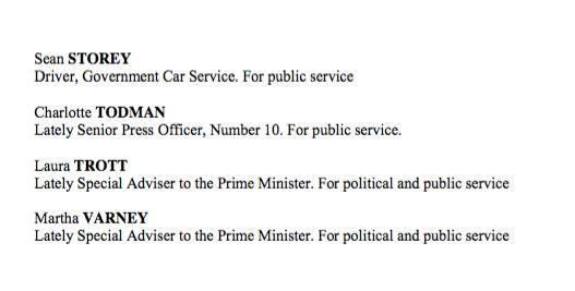 David Cameron's Full Honours List: Philip Hammond Absent, Jeremy Corbyn Criticised For Making Shami Chakrabarti...