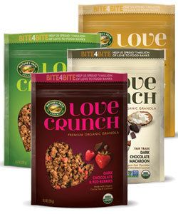"<a href=""http://us.naturespath.com/"">Nature's Path</a> makes insanely delicious organic granola blends under their Love"