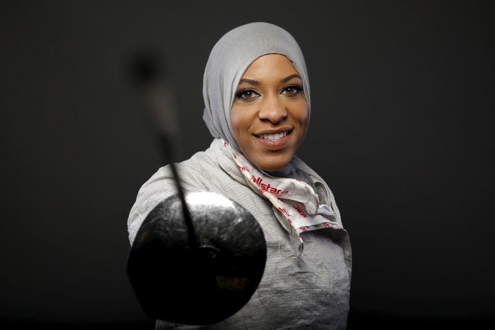 Ibtihaj Muhammad, first Team USA athlete to compete in a hijab.