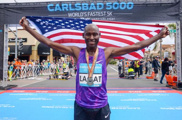 At 41, Bernard Lagat will be the oldest Team USA athlete to compete in running. Lagat, born in Kenya and a naturalized citize