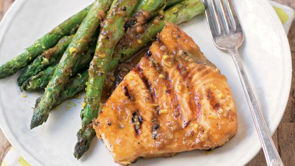 Swordfish is an ideal fish for anyone unaccustomed to cooking seafood, since its firm and meaty texture can withstand frying