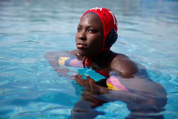 Ashleigh Johnson, 21, will be the first black woman ever to compete on the U.S. Women's Water Polo team. A native of Mia
