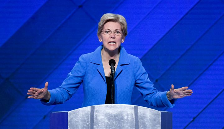Sen. Elizabeth Warren (D-Mass.) is viewed as one of Congress' fiercest Wall Street critics.