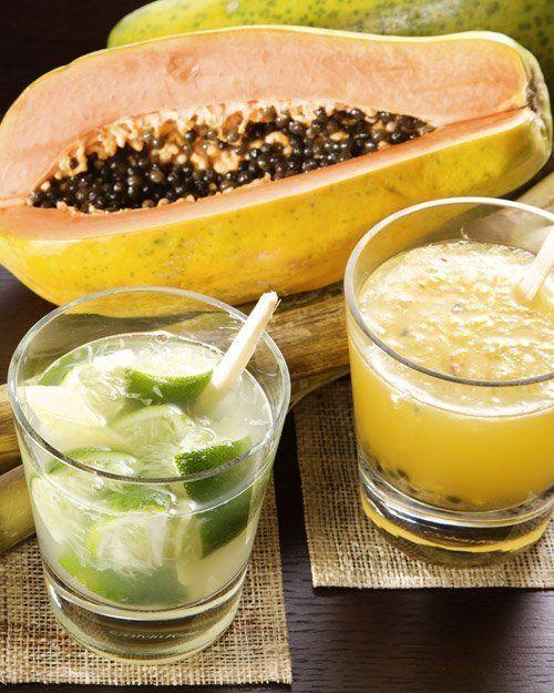 """<strong>Get the <a href=""""http://www.marthastewart.com/315745/passion-fruit-caipirinha"""" target=""""_blank"""">Passion Fruit Caipirin"""