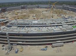 New Drone Footage Finally Conveys The Unbelievable Size Of Apple's New HQ
