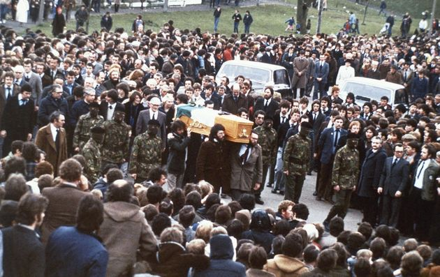 Bobby Sands' death in 1981 drew the attention of both