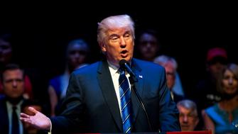 PORTLAND, ME - AUGUST 04: Republican Presidential candidate Donald Trump speaks at the Merrill Auditorium on August 4, 2016 in Portland, Maine. (Photo by Sarah Rice/Getty Images)