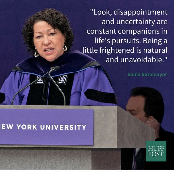 """In her her <a href=""""http://www.businessinsider.com/sonia-sotomayor-gives-advice-to-nyu-grads-2012-5"""">2012 commencement addres"""