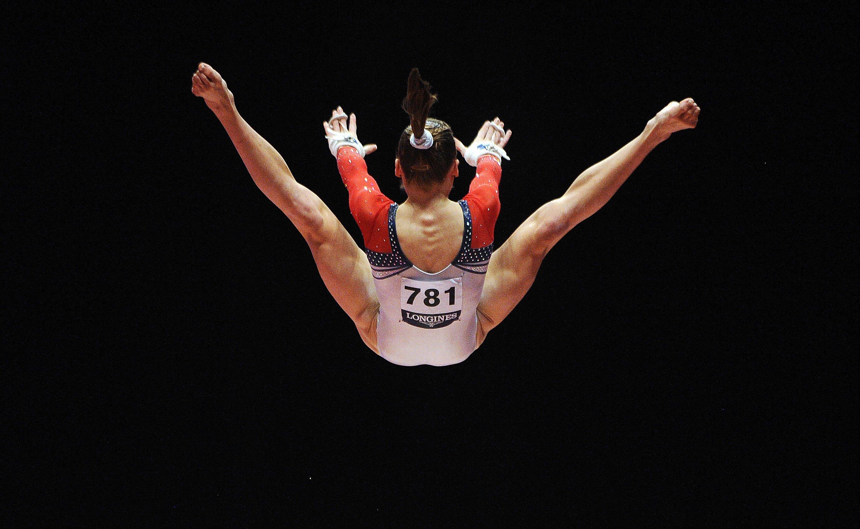 Think, that Gymnast crotch close view