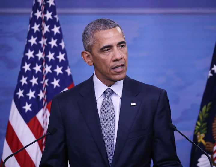 President Barack Obama set a goal of admitting at least 10,000 Syrian refugees in the 2016 fiscal year.