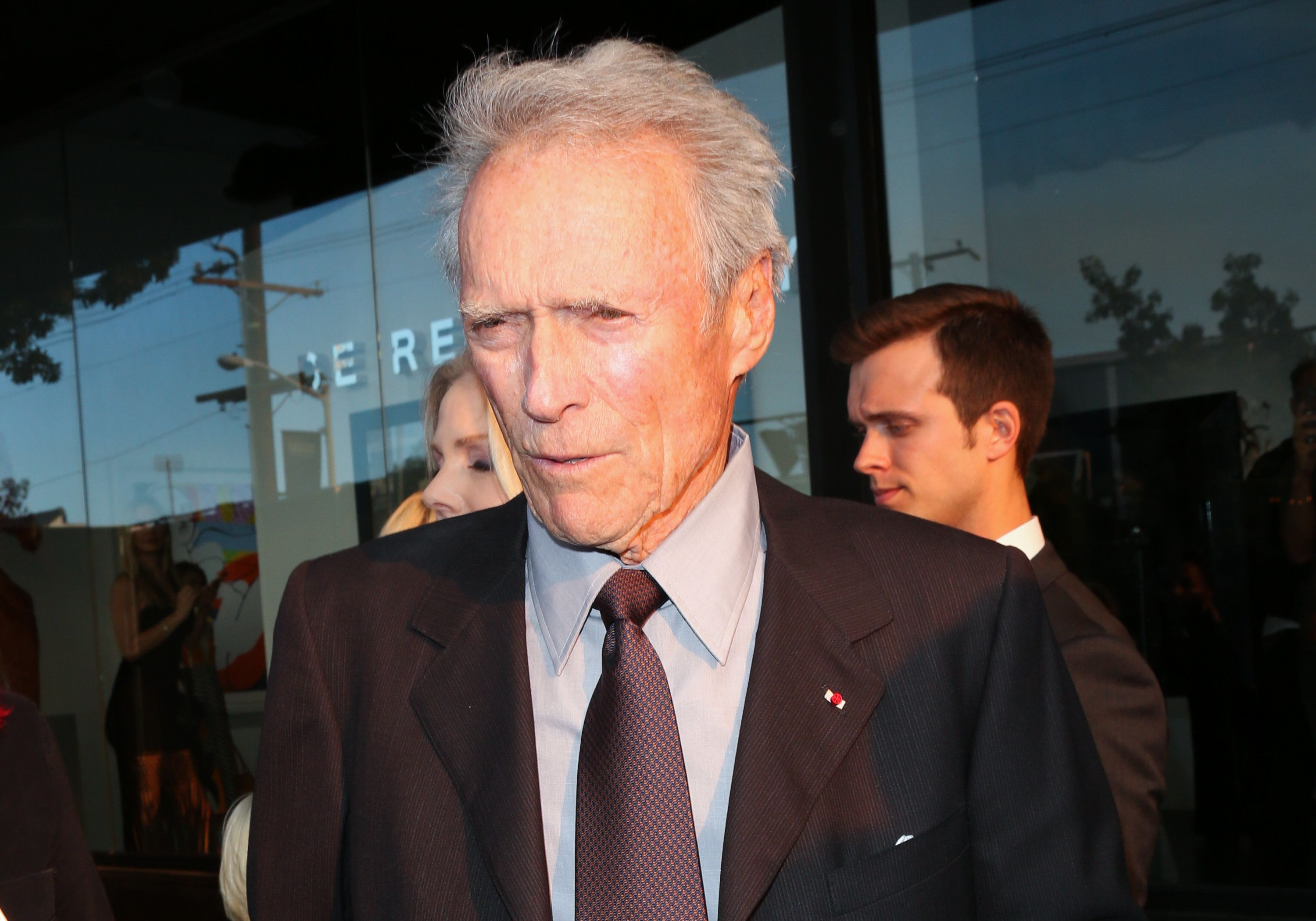 WEST HOLLYWOOD, CA - JUNE 04:  Actor / Director Clint Eastwood attends the 2nd annual 'Art For Animals' fundraiser for the Eastwood Ranch Foundation at De Re Gallery on June 4, 2016 in West Hollywood, California.  (Photo by Paul Archuleta/FilmMagic)