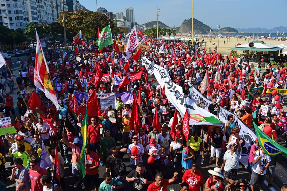 Protests Clog Up Rio Hours Before Opening