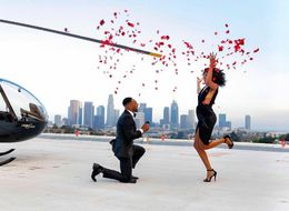 This Man's Romantic Rooftop Proposal Was 3 Years In The Making