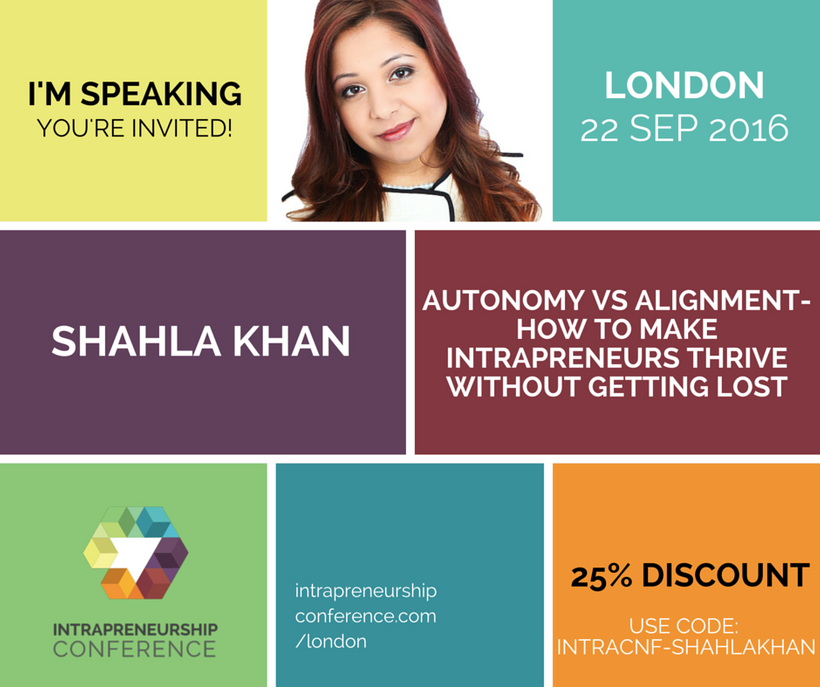 """Intrapreneurship Conference, <a href=""""http://www.intrapreneurshipconference.com/london/"""" target=""""_blank"""">buy tickets here.</a"""