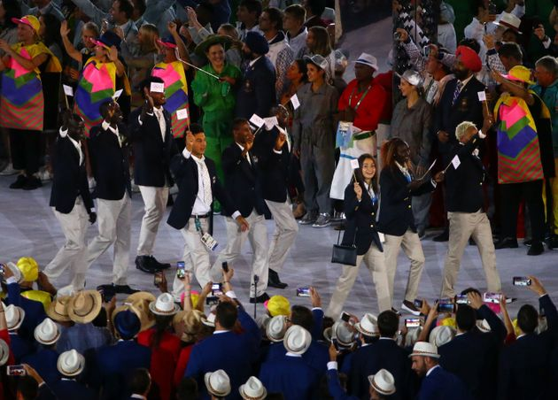 Rio 2106 Opening Ceremony: First Ever Refugee Team Gets Biggest Cheer Of The