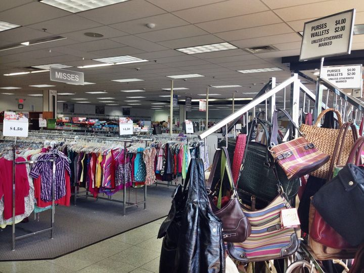 Goodwill offers clothes and accessories for prices that are comparable to fast fashion, and the quality is usually much better than you'll find at H&M or Forever 21.